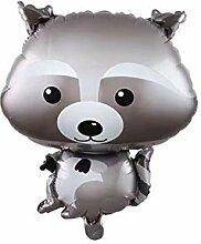 Qinlee Folienballon Tiere Tierballons Tier Ballons