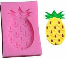 Qinlee süße Ananas-Fondant Silikonform DIY
