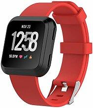 QIONGQIONG Fitbit Versa Strap Smart Watch Ersatz