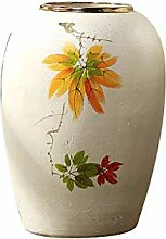 QIQIDEDIAN Bodenvase aus Keramik Wohnzimmer große