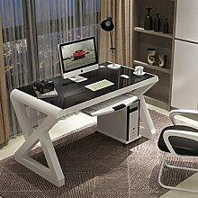 QIU Computertisch Desktop Home Einfache,Moderne