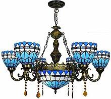 Qiuli British Classic Mediterranean Blue kreative