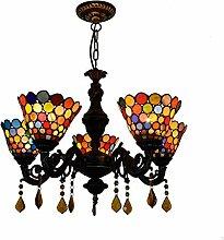 Qiuli British Classic Moderne Tiffany Color Glass
