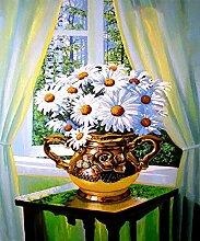 qiulv Chrysantheme Diamant Gemälde DIY 5D