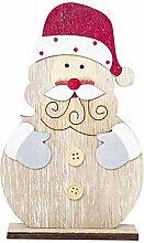 Qiusa Schneemann Weihnachtsschmuck, Holzformen