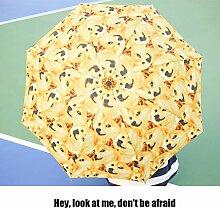 QIYINGYING Sonnenschirmfaltung Umbrella Magic