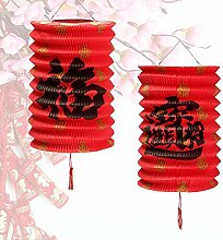 QIZIANG 10 STÜCKE ChineseFu Wiedervereinigung