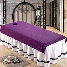 QIZIFAFA Einweg-Tischdecke, Massagebettdecke Mit