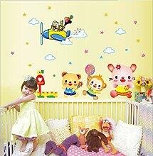 Qjhdg Cartoon Tierwelt Kindergarten Hintergrund