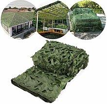 Qjifangzyp Grünes Tarnnetz, 2x3m Sonnenschutznetz