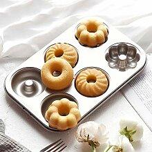 QJJML Donut-Backform - Mini-Donut-Backblech, 3