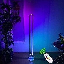 QJUZO LED RGB Stehlampe mit Touch Fernbedienung