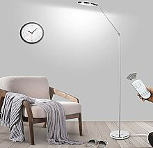 QJUZO LED Stehlampe Dimmbar Mit Fernbedienung,15W