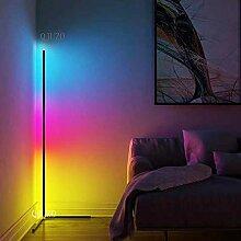 QJUZO LED Stehlampe Dimmbar mit Fernbedienung 20W