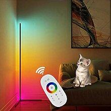 QJUZO RGB Stehlampe Dimmbar Mit Fernbedienung