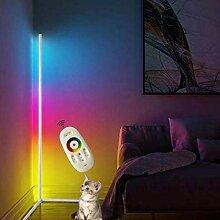 QJUZO RGB Stehlampe Dimmbar Mit Fernbedienung,