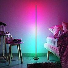 QJUZO RGB Stehlampe Wohnzimmer Dimmbar Mit