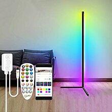 QJUZO RGB Stehlampe Wohnzimmer mit Fernbedienung