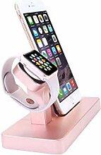QJXSAN Handy-Uhrhalterung Anwendbare Apple-Uhr-Uhr