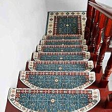 QKR&Schöner Teppich, Stepper-Pad Matte Treppenmatten für selbstklebende rutschfeste Gummimatte Continental Kostenlose Treppenstufe Pad Shop (1 geladen,, 5 geladen, 10 geladen) Schlafzimmer Teppich ( farbe : 5 Pcs , größe : S )