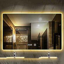 QL Wandspiegel, LED-beleuchteter Kosmetikspiegel