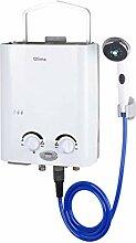 Qlima Gas Durchlauferhitzer Tragbar Wasserboiler