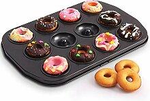 QLING Donut-Backform, antihaftbeschichtet, 12