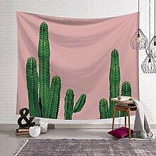 QLIYT WandteppicheTropische Pflanzen Kaktus