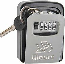 QLOUNI Schlüsseltresor Schlüsselsafe mit