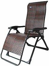 QLXWY Liegestuhl Gravity Chair Lounge Folding
