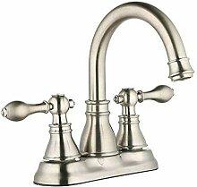 Qlyhyh Wc Wasserhahn Nickel Gebürstet Küche