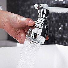 Qmber Wasserhahn Splash Drehbar Filter Düsendüse