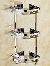 QMM Bad-Accessoires,Badezimmer Regal,Modern
