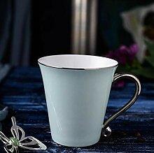 qnmbdgm Becher Porzellantassen Kaffeetasse Und