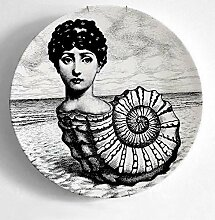 qnmbdgm Fornasetti Platte 10 Zoll New Top Fashion