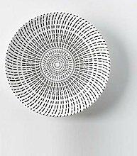qnmbdgm Platte Keramik 8-Zoll-Geschirr Phnom Penh