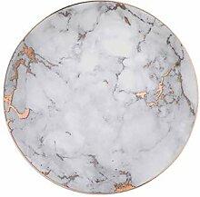 qnmbdgm Platte Keramik Kreative Platten Geschirr