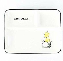 qnmbdgm Platte Keramikplatten Kreative