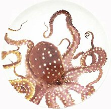 qnmbdgm Teller 8 Zoll Spezielle Ozean Tiere