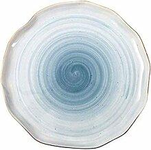 qnmbdgm Teller Keramik Kreativ Teller Keramik