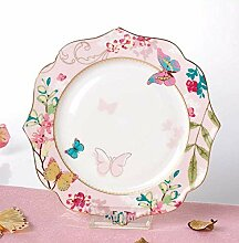 qnmbdgm Teller Teller Keramik Suppe Teller