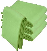 Qool24 Jersey Baumwolle Sofaüberwurf Couch