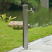 QPALB Wasserhahn Säule Garten 304 Edelstahl 86cm