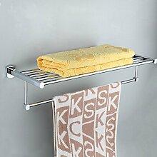 QPLA@Europäische moderne Kupfer Badezimmer Accessoires Handtuchhalter , 600