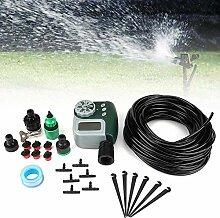 QPLKL Irrigation Water Timer Bewässerungssystem,