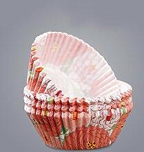 QPSSP Cupcake Kuchenform Cup Am Ofen Backen Werkzeuge 100 Re,D