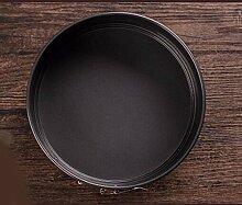 QPSSP Die Antihaftbeschichtete Kuchenform Runde Boden Ofen Gebacken Käse Machen Aggressiv 6-8-10 Zoll Backen Werkzeuge Chiffon,E