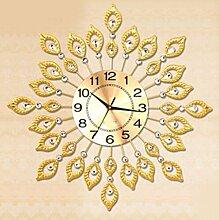 QPSSP Kreative Uhr Der Modernen Wohnzimmer Tisch - Einfache Quarz - Uhr Stumm Kunst Uhr Uhr.