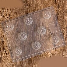 QPSSP Schimmel Eierförmige Schokolade Schimmel, Süß - Kreativen Kuchen Gebacken, Mit Pudding, Kuchen, Werkzeuge, Heimwerker,D