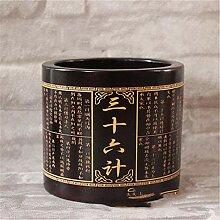 Qpw Bambus Vase Hao Bambus schnitzen große Stift: